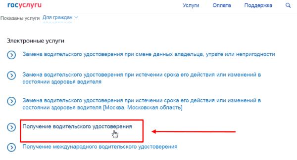 Скриншот Госуслуги